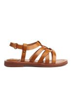 Leather sandals - Light brown - Kids | H&M CA 2