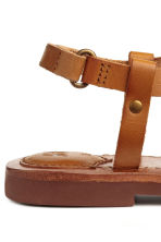 Leather sandals - Light brown - Kids | H&M CA 5
