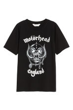 Printed T-shirt - Black/Mot?rhead - Kids | H&M CA 2