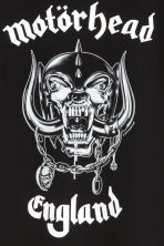 Printed T-shirt - Black/Motörhead - Kids | H&M CN 3