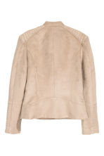 Biker jacket - Light beige - Ladies | H&M CN 3