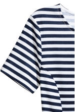 Jersey dress - Dark blue/Striped - Ladies | H&M 3