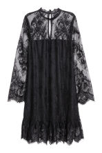 Short lace dress - Black - Ladies | H&M CN 2