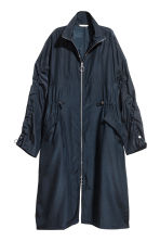 Oversized parka - Dark blue - Ladies | H&M CN 2
