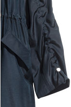 Oversized parka - Dark blue - Ladies | H&M CN 3