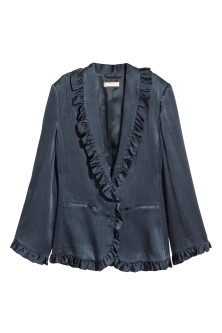 Frilled jacket