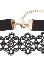 Lace choker - Black - Ladies | H&M CN 3