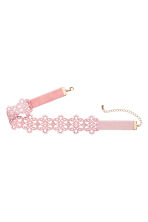 Lace choker - Light pink - Ladies | H&M 2