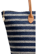 Shopper - Dark blue/Striped - Ladies | H&M 3