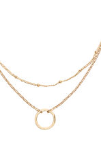 2-pack necklaces - Gold - Ladies | H&M CN 2