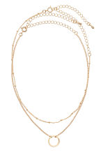 2-pack necklaces - Gold - Ladies | H&M 1