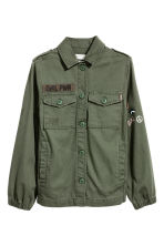Cargo jacket - Khaki green - Kids | H&M 2