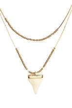 Necklace with a pendant - Gold - Ladies | H&M 2
