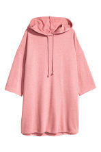 Hooded sweatshirt dress - Pink - Ladies | H&M 2