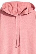 Hooded sweatshirt dress - Pink - Ladies | H&M 3