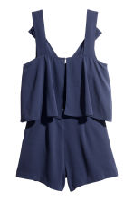 Playsuit - Dark blue - Ladies | H&M GB 3