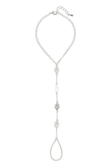 Hand decoration - Silver - Ladies | H&M CN 1