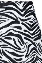 Short skirt - Zebra print - Ladies | H&M GB 3