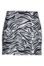 Short skirt - Zebra print - Ladies | H&M GB 2