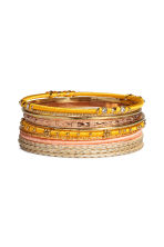 11-pack bangles - Gold - Ladies | H&M CN 1