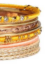 11-pack bangles - Gold - Ladies | H&M 2