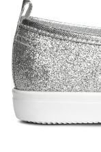 Glittery slip-on trainers - Silver - Kids | H&M CN 4