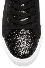 Trainers - Black/Glitter - Ladies | H&M 3