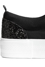 Trainers - Black/Glitter - Ladies | H&M IE 4