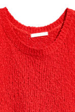 Knitted top - Red - Ladies | H&M 3