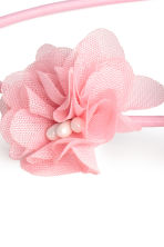 Hairband with flowers - Pink - Kids | H&M CN 2