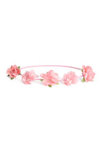 Hairband with flowers - Pink - Kids | H&M CN 1