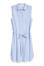 Shirt dress - Blue/Striped - Ladies | H&M 2