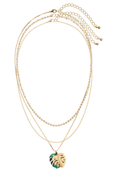 3-pack necklaces - Gold - Ladies | H&M CN 1