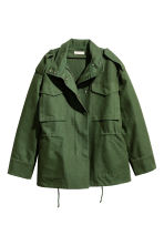 Cargo jacket - Khaki green - Ladies | H&M CN 2
