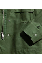 Cargo jacket - Khaki green - Ladies | H&M CN 3