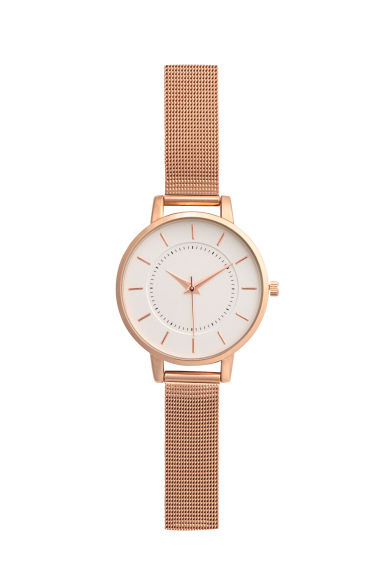 Orologio in metallo - Rosa dorato - DONNA | H&M IT 1