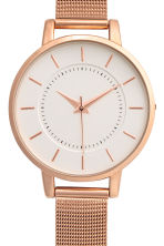 Orologio in metallo - Rosa dorato - DONNA | H&M IT 3