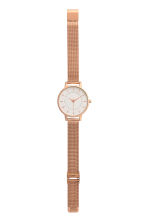 Orologio in metallo - Rosa dorato - DONNA | H&M IT 2