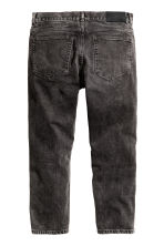 Cropped Tapered Jeans - Noir washed out - HOMME | H&M BE 2