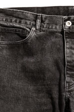 Cropped Tapered Jeans - Black washed out - Men | H&M 3