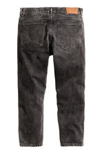 Cropped Tapered Jeans - Nero Washed out - UOMO | H&M IT 2