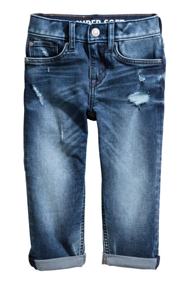Super soft Slim fit Jeans - 牛仔蓝 - 儿童 | H&M CN 1