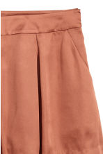 Satin shorts - Rust - Ladies | H&M 3