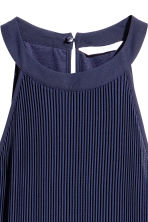 Pleated dress - Dark blue - Ladies | H&M 3