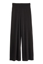 Wide trousers - Black - Ladies | H&M CA 2