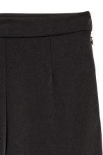 Wide trousers - Black - Ladies | H&M CA 3