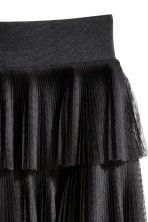 Tiered skirt - Black - Ladies | H&M CN 3