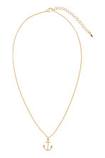 Necklace with a pendant - Gold - Ladies | H&M CN 1