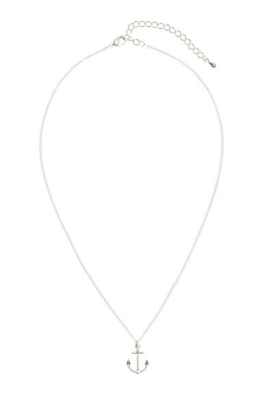 Necklace with a pendant - Silver - Ladies | H&M 1
