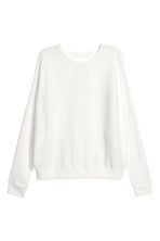 Ribbed jumper - White - Ladies | H&M CA 2